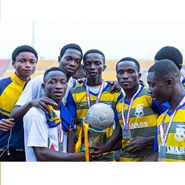 Events T I AMASS win Ashanti Regional Inter-School Soccer